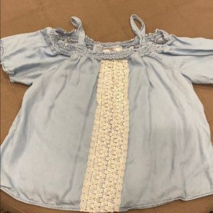 Justice Girls size 14 top